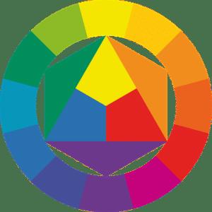 cercle chromatique pour choix des couleurs
