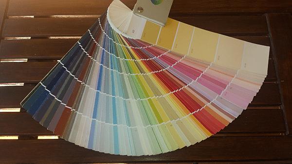 Nuancier de harmony peinture pour le choix des couleurs de peinture